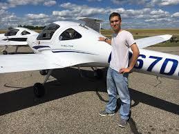 Congratulations to Brandon Zender on his CFI License! - Crosswinds ...