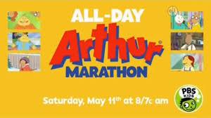 pbs kids promo arthur marathon 2019