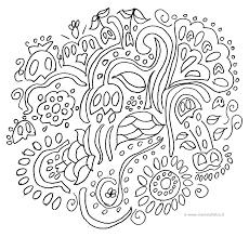 Più Adatto Per I Bambini Mandala Primavera Da Colorare Disegni