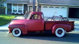 1950 Chevy 5 window Pick up - YouTube