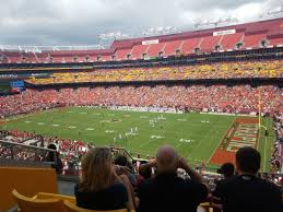 Fedex Field Club Level Seating Chart Fedexfield Zone B Club 338 Rateyourseats Com