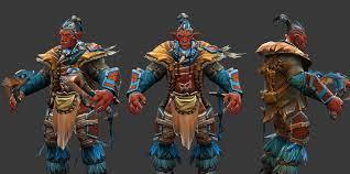 artstation troll warlord dota 2 costume mihalceanu alexandru