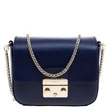 furla navy blue leather mini metropolis cross bag nextprev prevnext