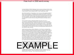 how much is words essay college paper academic service how much is 2000 words essay how many typed pages is 2000 words double