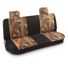 king s camo camouflage bench seat cover