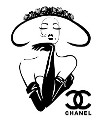 chanel. haute couture poster classy chic chanel art a