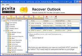 Free Outlook Pst Repair Downloads
