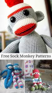 Sock Monkey Pattern Cool Free Sock Monkey Patterns Sewing Tutorials Inspiration