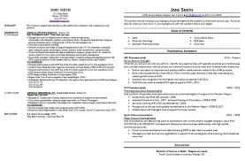 Examples Of Good And Bad Resumes Template Design