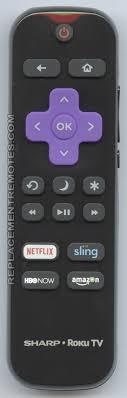 sharp roku tv remote. 0.32 sharp roku tv remote c