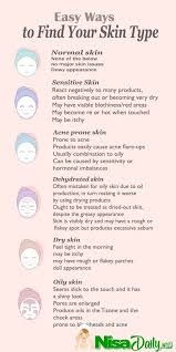 Simple Easy Ways To Find Your Skin Type Skin Routine