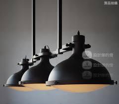 pendant lighting industrial style. Industrial Look Pendant Lights Memorable RH Loft Vintage Retro American Style 3 Heads Home Interior 28 Lighting