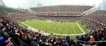 Chicago Bears Seating Chart Virtual Soldier Field Seating Chart Map Seatgeek