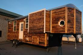 custom tiny house. Exellent Tiny Young Coupleu0027s Custom Tiny Home Is Popping Out Of Its Seams To House S