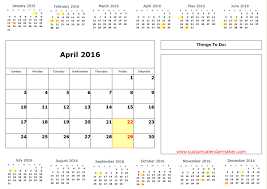 Preview In 2014 Calendar On One Page Calendar