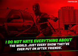 Deadpool Quotes Beauteous 48 Epic Quotes By Deadpool That Prove He Is The Most Badass And