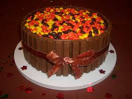 Small Picture reeses kitkat Thanksgiving cake Holidays Pinterest