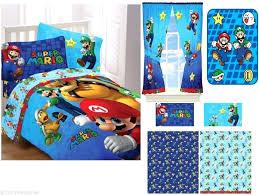 mario bed sets kids boys super bedding bed in a bag comforter set kids super mario mario bed sets