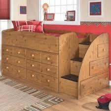 Twin loft bed with storage underneath 12