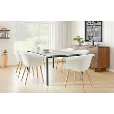 rand table with collier chairs dining room board inside and remodel 17
