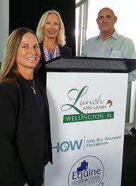 Equine Hyperbaric Center Featured At WEF Lunch & Learn   Town-Crier  Newspaper