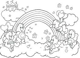 rainbow unicorn inside out coloring pages kids