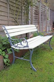 Renewing Bench Garden Furniture Paint Colours Home Design And Decor