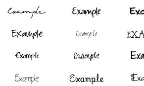 手書き風のサインを簡単に作成できるジェネレータsignature Generator