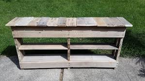 patio pallet shoe rack