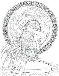 Art Coloring Pages Fantasy Art Coloring Pages Dark Ring Book