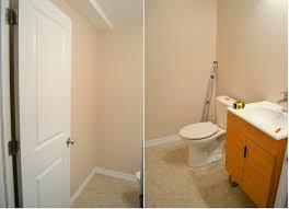 installing a basement bathroom. Basement Bath Reveal! Installing A Bathroom T