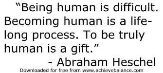 Image result for being human quotes