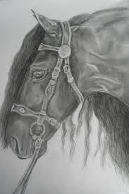 Afbeeldingsresultaat Voor Paarden Tekenen Tekenen Horses