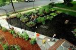 Image result for front yard vegetable garden ideas
