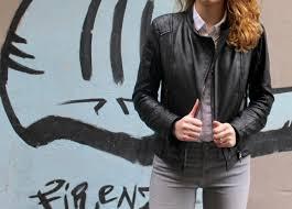 leather jacket florence