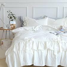 cotton duvet cover king white style bedding set washed cotton duvet cover set bed quilt twin cotton duvet cover king