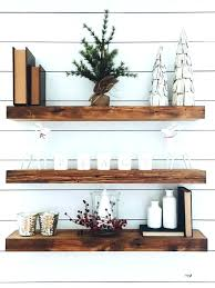 floating wood shelves reclaimed shelf included pallet how to make wooden kitchen rustic s