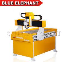 blue elephant good 6090 cnc router kits for jinan desktop mini cnc milling machine