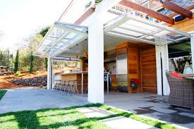 folding garage doorsTraditional Patio