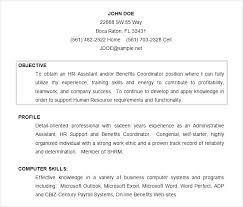 Example Of Objective In Resumes Samples Resumes For Customer Service Cocinacolibri Com
