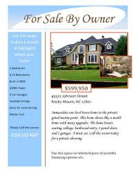 home for sale template 14 free flyers for real estate sell rent