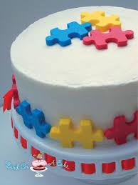 Puzzle Cake Designs Puzzle Cake Tutorial Adoption Cake Cake Cake Tutorial