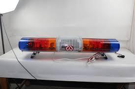 Used Ambulance Light Bar Hot Item Blue Red Emergency Warning Rotating Light Bar For Ambulance Police Cars