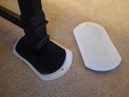 chair glides for carpet. glides if you are moving furniture on top of carpet as in this family room need chair for h