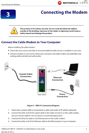 Motorola Sb6141 Lights User Guide Surfboard Sb6141 Docsis 3 0 Cable Modem Pdf