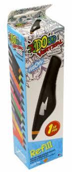 """Картридж для <b>3D</b>-ручки """"Вертикаль"""", неоновый оранжевый ..."""