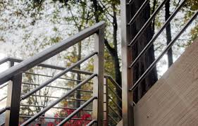 Olympus Horizontal Bar Railing System, Round Top - AGS Stainless Inc.