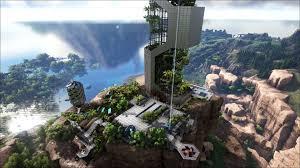 Ark Pve Base Designs Ark Survival Evolved Tek Base Design Tek Skyscraper Ark