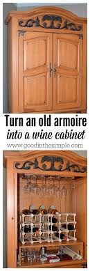Diy wine cabinet Dresser Simple Diy Project Turn An Old Television Armoire Into Wineliquor Cabinet In Good And Simple Turn Tv Armoire Into Cabinet For Wine Bottles And Glasses
