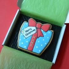 christmas present cookies. Fine Christmas Christmas Present Cookie Card With Cookies E